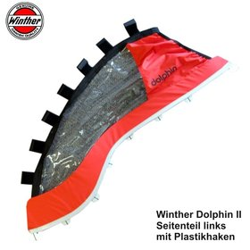 WINTHER Dolphin II,  Seitenteil links mit Plastikhaken