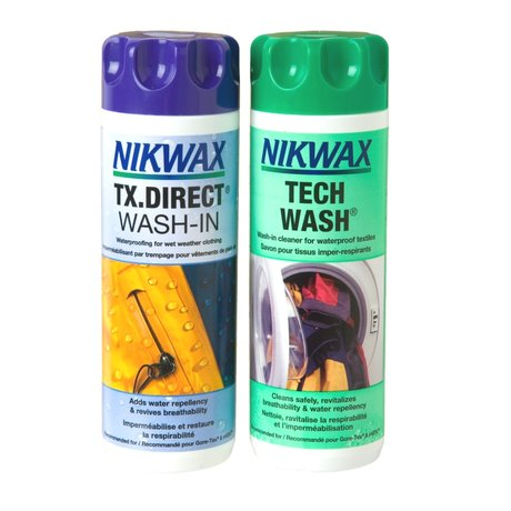 NIKWAX Tech Wash & TX Direct Set - 2 x 300 ml