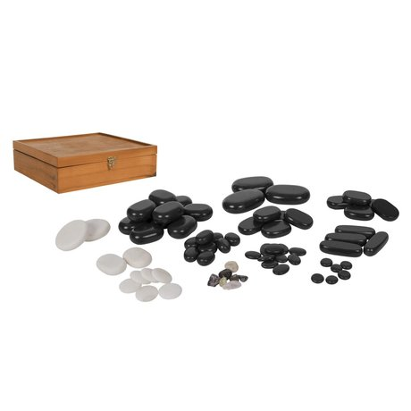 Hot Stone Massage Steine Set 70 teilig