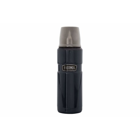 Thermos Isolierflasche King, 0,47 L, dunkelblau