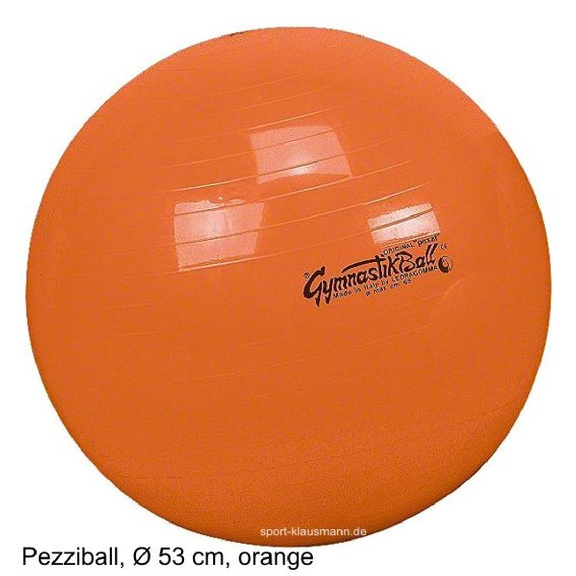 pezzi gymnastikball sitzball 53 cm orange outdoor ausr stung r. Black Bedroom Furniture Sets. Home Design Ideas
