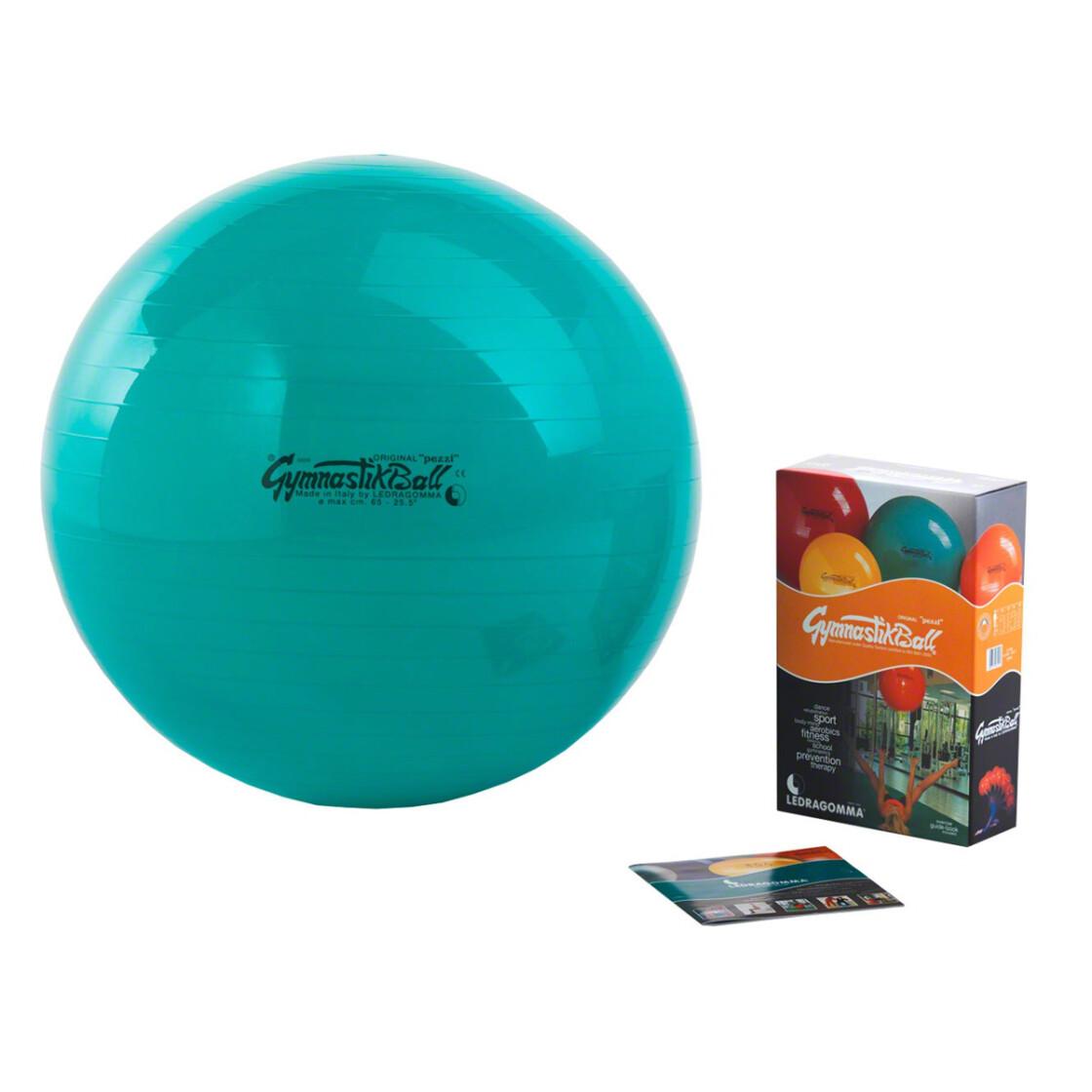 Pezzi Gymnastikball, Sitzball, 65 cm, grün