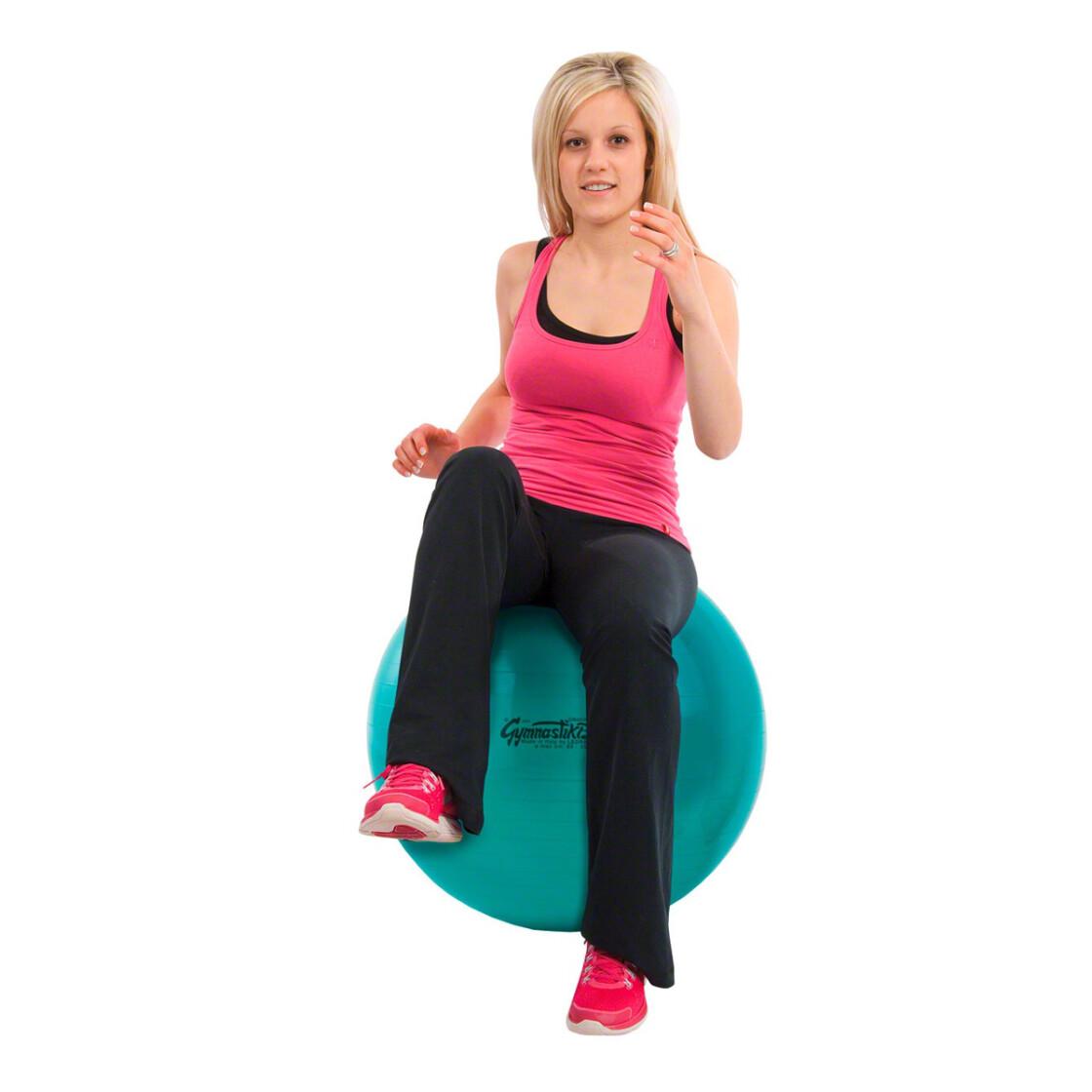 original pezzi gymnastikball sitzball 65 cm gr n outdoor ausr s. Black Bedroom Furniture Sets. Home Design Ideas