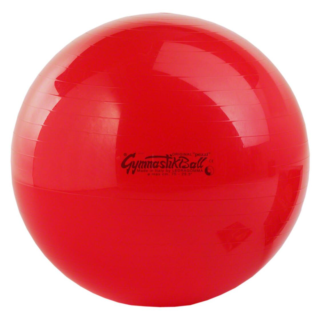 pezzi gymnastikball sitzball 75 cm rot outdoor ausr stung ruck. Black Bedroom Furniture Sets. Home Design Ideas