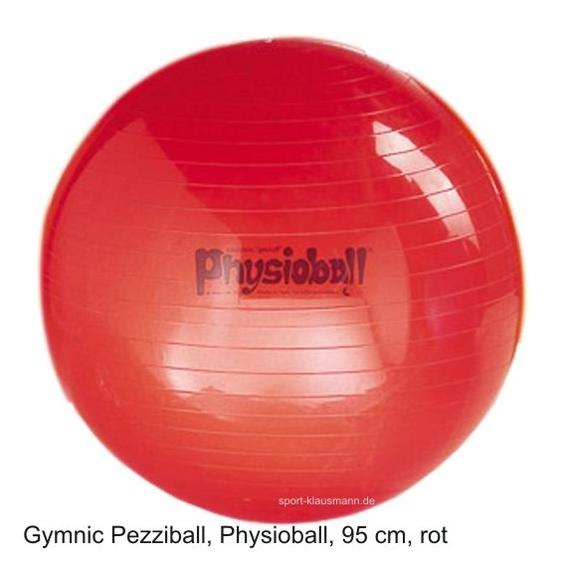 pezzi gymnastikball physioball sitzball 95 cm rot. Black Bedroom Furniture Sets. Home Design Ideas