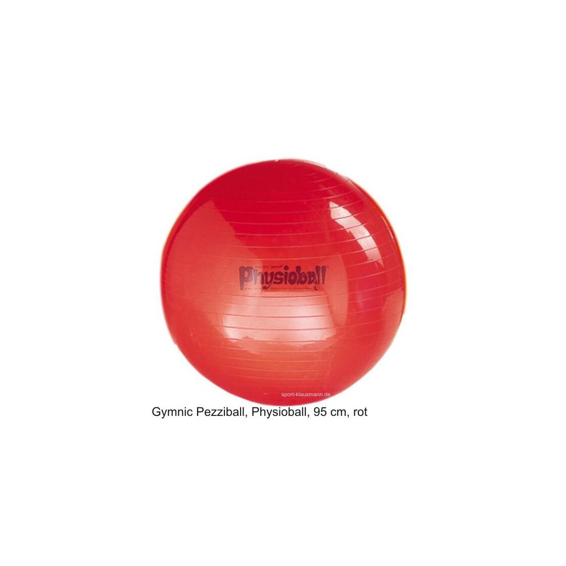 pezzi gymnastikball physioball sitzball 95 cm rot outdoor ausr. Black Bedroom Furniture Sets. Home Design Ideas