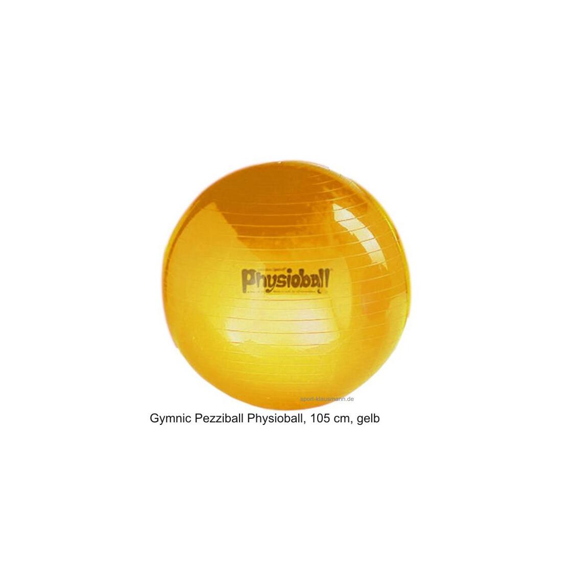 pezzi gymnastikball physioball sitzball 105 cm gelb outdoor au. Black Bedroom Furniture Sets. Home Design Ideas