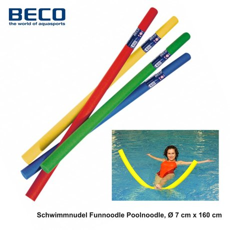 Schwimmnudel Funnoodle Poolnoodle, Ø 7 cm x 160 cm