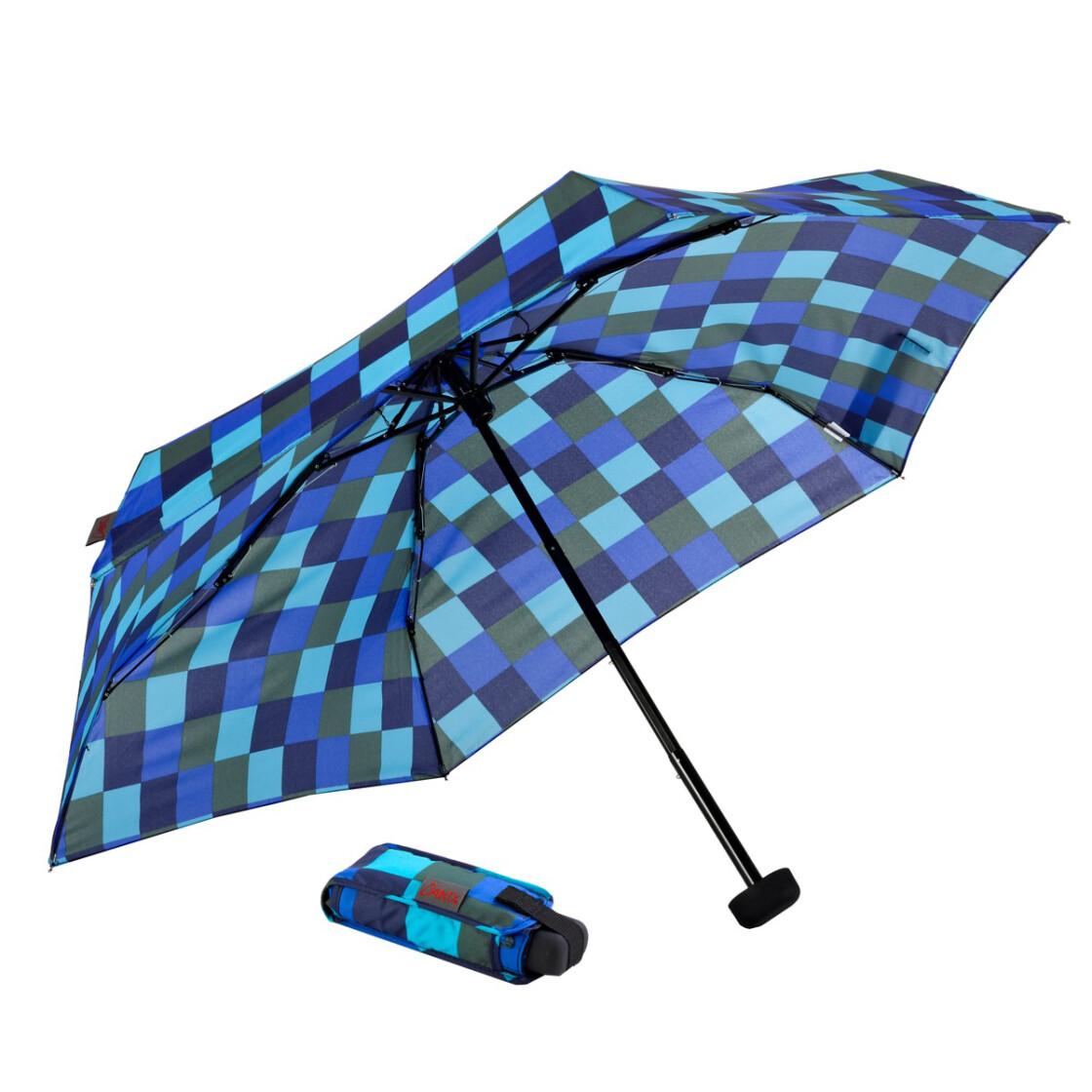 euroschirm taschenschirm dainty cws1 blaut ne kariert outdoor. Black Bedroom Furniture Sets. Home Design Ideas